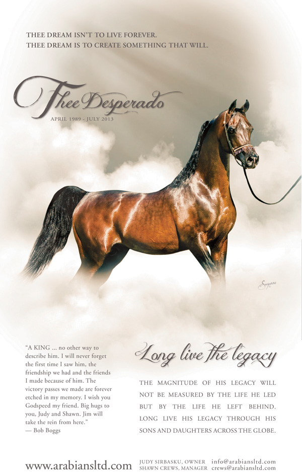 In Memory of Thee Desperado
